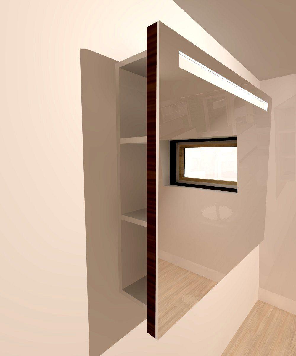 Ogledalo z omarico